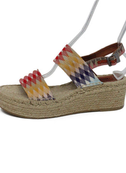 Missoni Multi Red Green Espadrilles 1