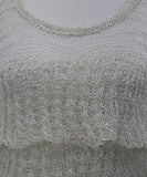 Missoni White Silver Cotton Knit Top 4