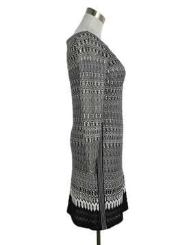 Missoni Black White Viscose Knit Dress 2