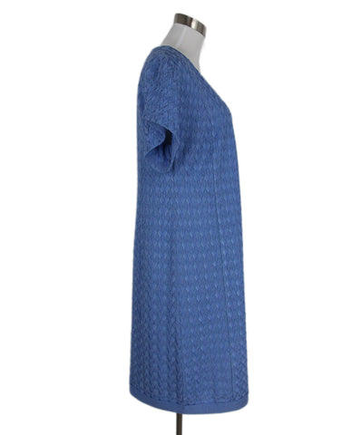 Missoni Blue Periwinkle Rayon Wool Dress 1