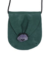 Missoni Green Leather Purple Stone Crossbody Handbag 6