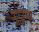 Missoni White Purple Blue Wool Hat 5