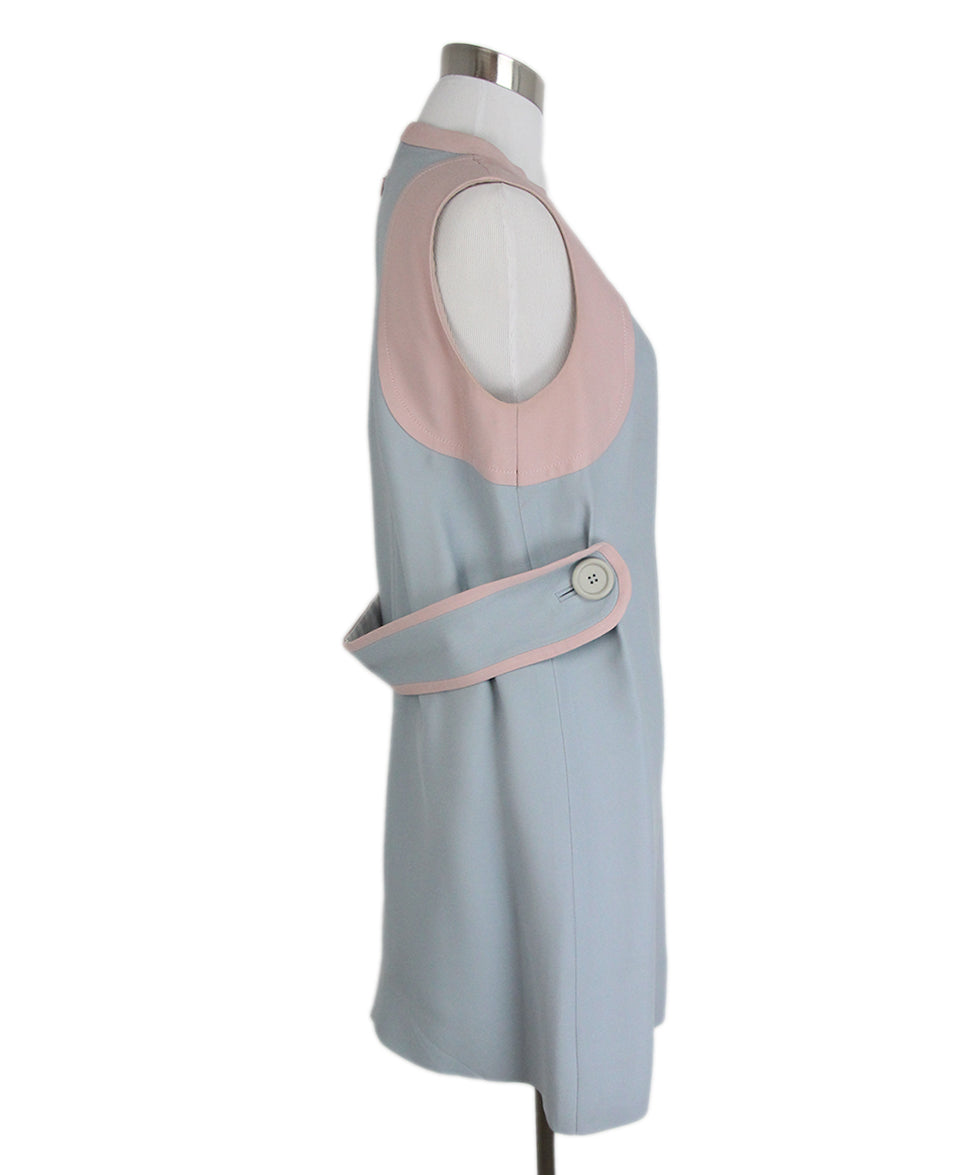 Miu Miu Blue Pink Dress 2