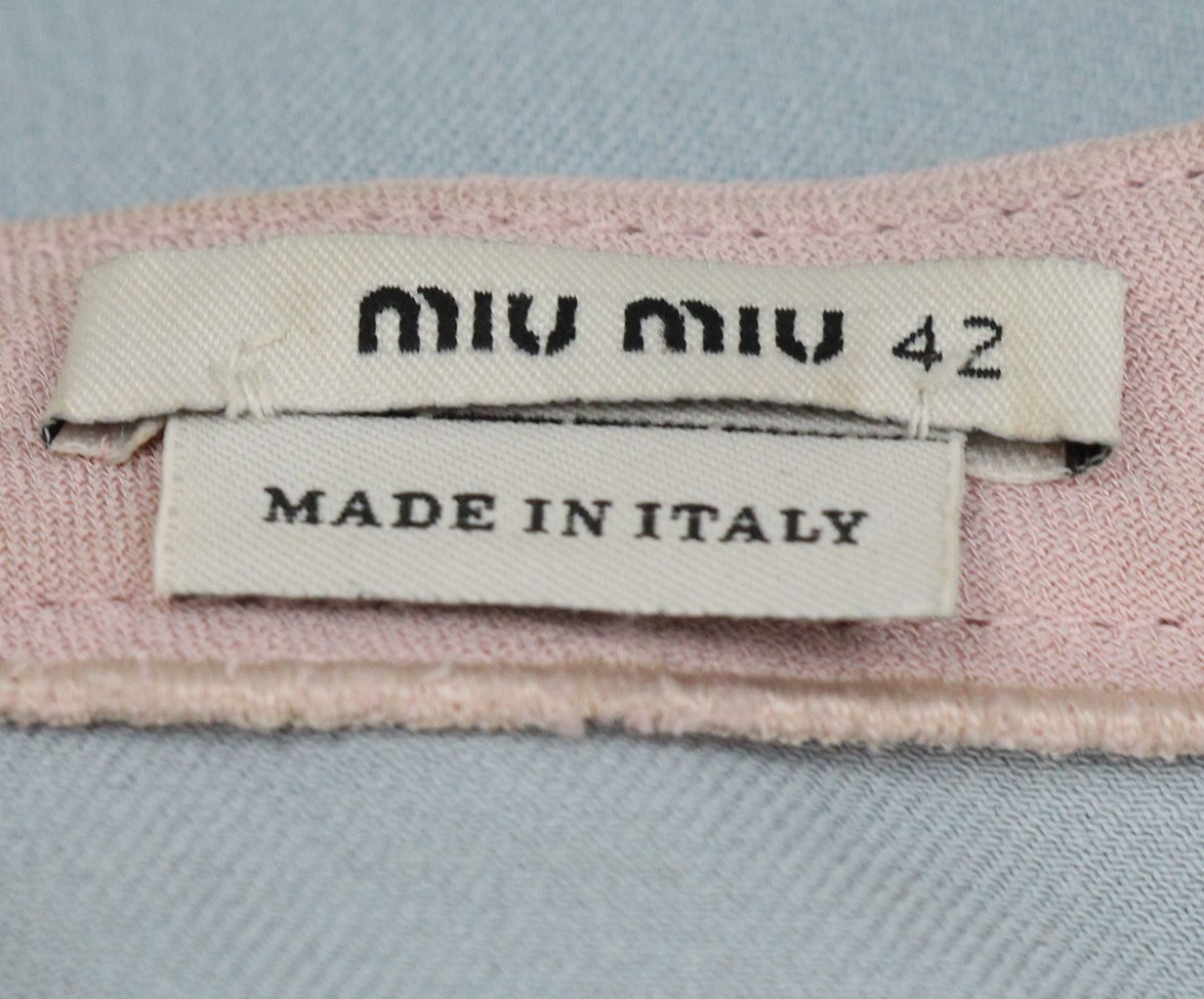 Miu Miu Blue Pink Dress 4