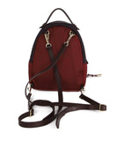 Moncler Burgundy and Plum Nylon Backpack 3
