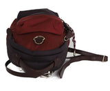 Moncler Burgundy and Plum Nylon Backpack 5