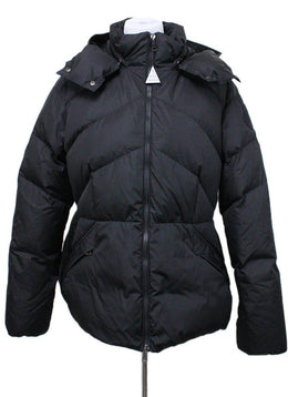Moncler Black Polyamide Down Coat