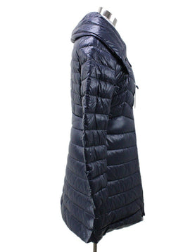 Moncler Navy Puffy Down Coat 1