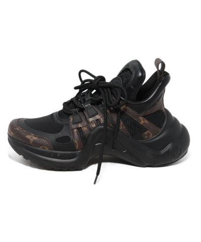 Monogram Archlight brown black monogram sneakers 1