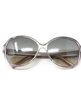 Mont Blanc Pink Brown Lens W/Case Sunglasses