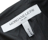 Morgan Le Fay Black Silk Dress 4