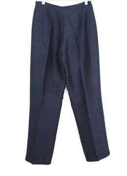 Morgan Le Fay Navy Silk Pants 2