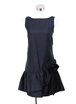 Moschino Black Silk Dress size 4