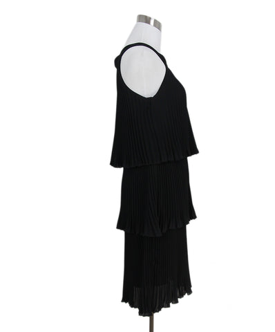 Moschino Cheap & Chic black pleated dress 1