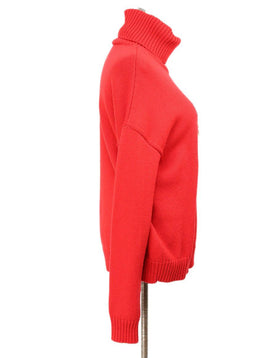 Moschino Red Wool Sweater 2