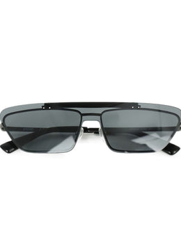 Moschino Black Blue Lens Sunglasses 2