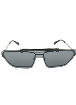 Moschino Black Blue Lens Sunglasses 1