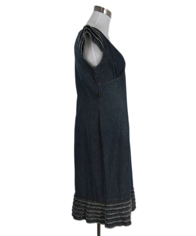 Moschino Blue Denim Dress 1