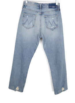 Mother Blue Denim Pants 2