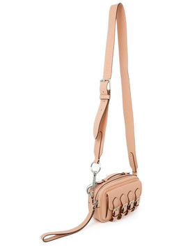 Mulberry Acne Studios Pink Leather Crossbody Handbag 2