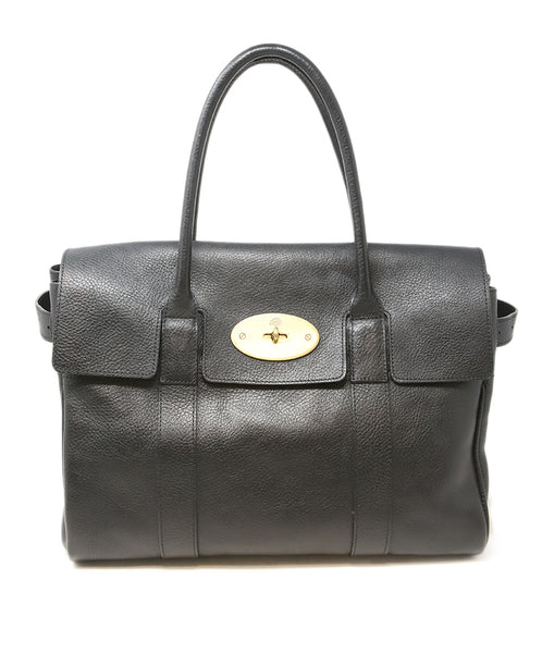 Mulberry Black Leather Shoulder Bag 1
