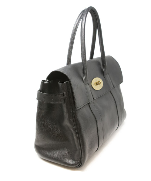 Mulberry Black Leather Shoulder Bag 2
