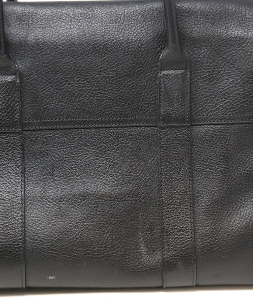 Mulberry Black Leather Shoulder Bag 12