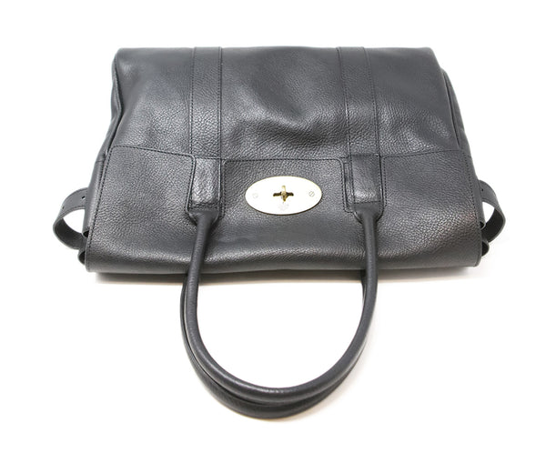 Mulberry Black Leather Shoulder Bag 5