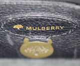 Mulberry Black Leather Shoulder Bag 8