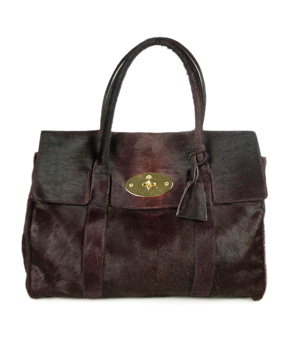 Mulberry Purple Pony Bag 1