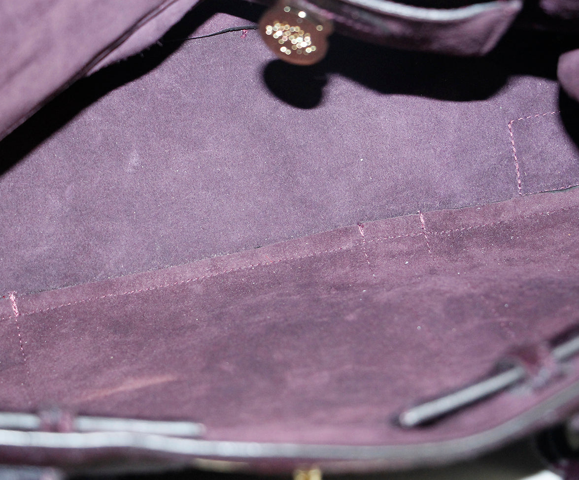 Mulberry Purple Pony Bag 7