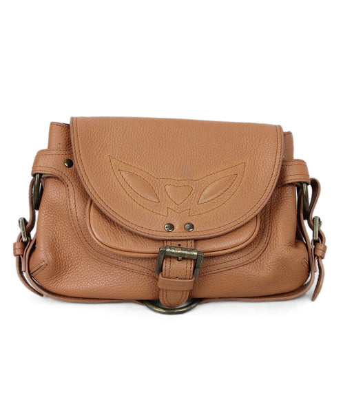 Mulberry Tan Leather Buckles Handbag 1