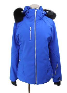 NILS Royal Blue Puffer Coat 1