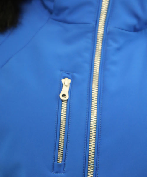 NILS Royal Blue Puffer Coat 4