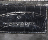 Nancy Gonzalez Black Crocodile Leather Shoulder Bag 9