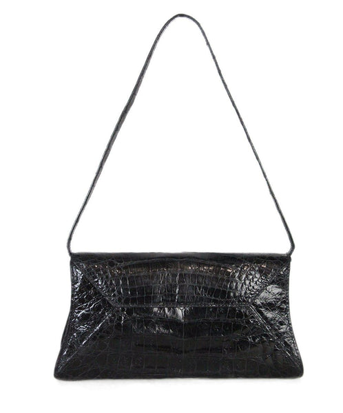 Nancy Gonzalez Black crocodile bag 1