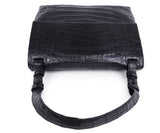 Nancy Gonzalez Black Crocodile Shoulder Bag Handbag 5