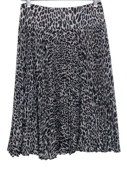 Nanette Lepore Neutral Animal Print Skirt