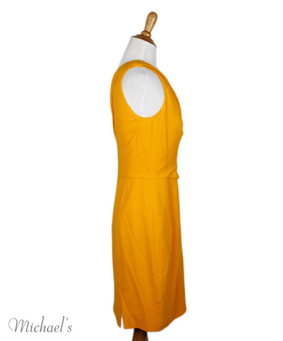 Narciso Rodriguez Yellow Dress Sz 40