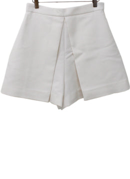 Rosetta Getty Neutral Wool Shorts