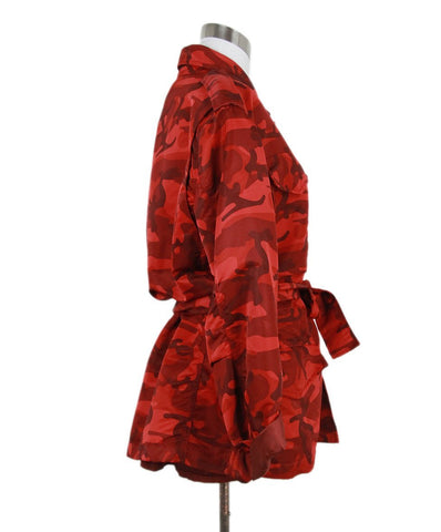 Nili Lotan red print jacket 1