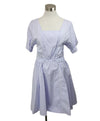 Nina Ricci Light Blue Cotton Dress 1