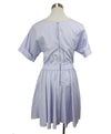 Nina Ricci Light Blue Cotton Dress 3