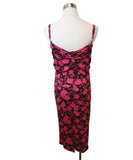 Nina Ricci Fuchsia Floral Print Viscose Dress 3
