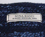 Nina Ricci Blue Stripes Cotton Jacket 4