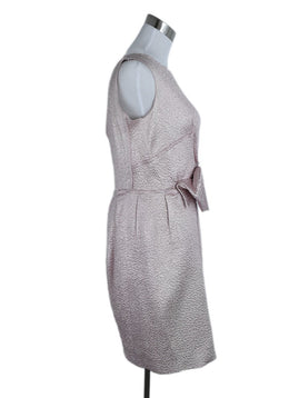 Nina Ricci Pink Silk Polyester Dress 2
