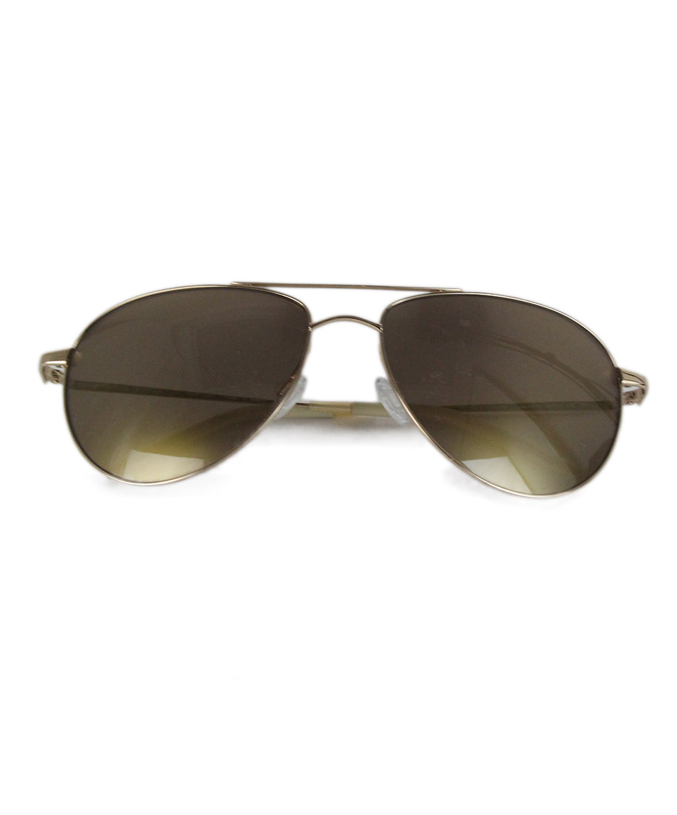 Oliver Peoples Bronze Metal Sunglasses 1