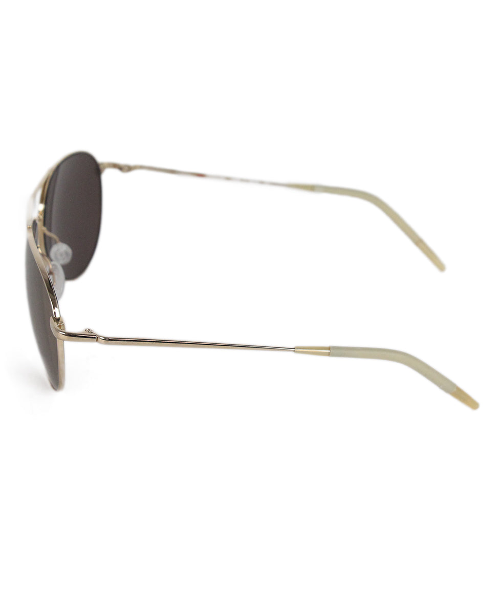 Oliver Peoples Bronze Metal Sunglasses 2