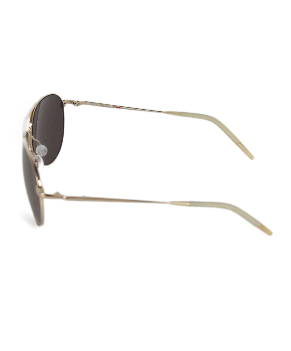 Oliver Peoples Bronze Metal Sunglasses 3