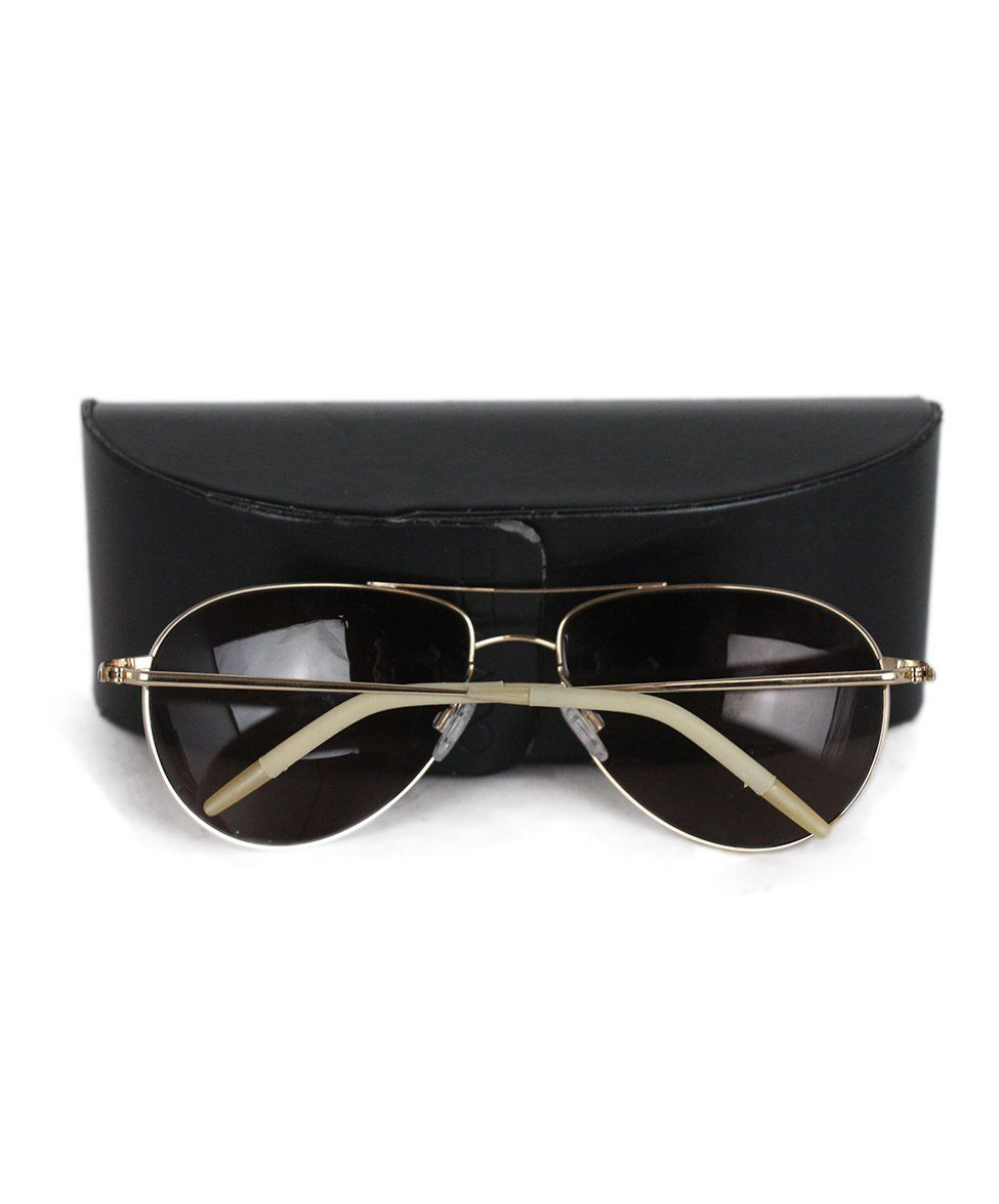 Oliver Peoples Bronze Metal Sunglasses 4